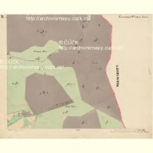 Eisenstrass - c1950-1-010 - Kaiserpflichtexemplar der Landkarten des stabilen Katasters