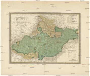 Die Markgrafschaft Mähren nebst Oestereichisch Schlesien