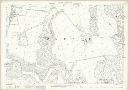 Monmouthshire XXV.16 (includes: Mathern; Shirenewton; St Arvans) - 25 Inch Map