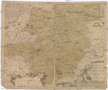 Circuli Austriaci in quo sunt archiducatus Austriae ducatus Stiriae Carintiae Carniolae comitatus Tirolis et episcopatus Tridentini novissima descriptio
