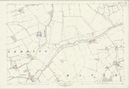 Suffolk LV.7 (includes: Drinkstone; Felsham; Gedding; Rattlesden) - 25 Inch Map