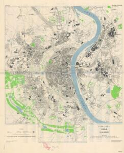 Town plan of Köln (1944)