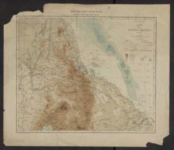 Carta della colonia Eritrea
