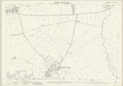 Leicestershire XLV.8 (includes: East Langton; Stonton Wyville; Tur Langton; West Langton) - 25 Inch Map