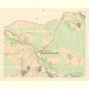 Gross Bistrzitz (Welky Bistrzice) - m3258-1-003 - Kaiserpflichtexemplar der Landkarten des stabilen Katasters