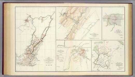 Virginia, Averell routes.