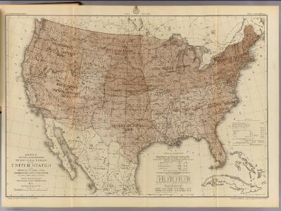United States districts, general government surveys.