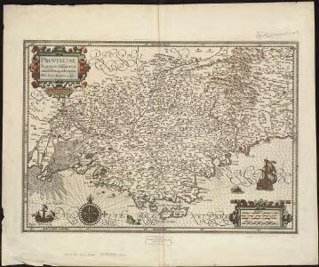 Provinciae, regionis Galliae, vera exactissimaque descriptio