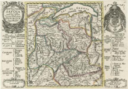 Das Hertzogthum Savoya :