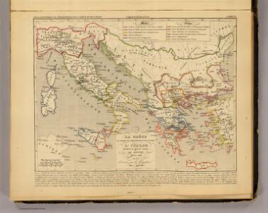 La Grece au temps de Philippe et d'Alexandre, l'Italie, 400 a 300 av. J.C.