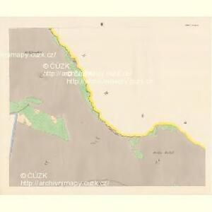 Sattel (Sedloňow) - c6810-1-003 - Kaiserpflichtexemplar der Landkarten des stabilen Katasters