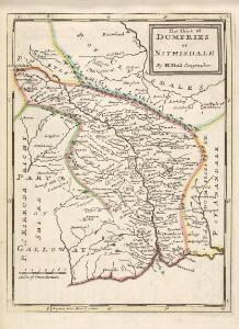 The Shire of Dumfries or Nithisdale / by H. Moll.