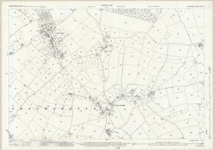 Shropshire XVI.16 (includes: Adbaston; Cheswardine) - 25 Inch Map