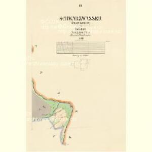 Schwarzwasser (Černávoda) - c0875-1-003 - Kaiserpflichtexemplar der Landkarten des stabilen Katasters