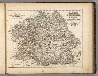 Bayern, Wurtemberg, Baden, Hohenzollern.