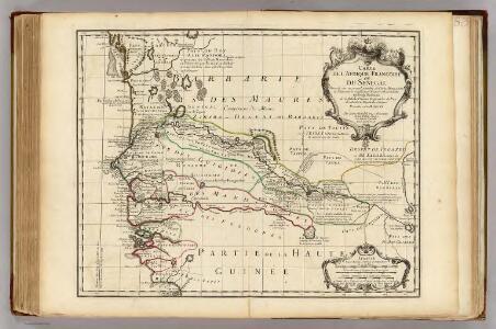 Afrique Francoise ou du Senegal.