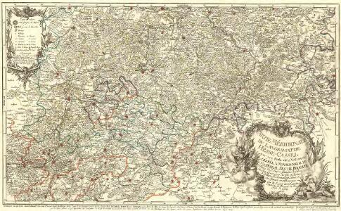 Partie Méridionale du Langraviat de Hesse-Cassel avec une Partie de la Vetteravie