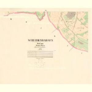 Scheibenradaun - c5402-1-005 - Kaiserpflichtexemplar der Landkarten des stabilen Katasters