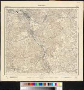 Meßtischblatt [7521] : Reutlingen, 1908