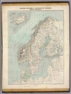 Schweden, Norwegen, Daenemark.