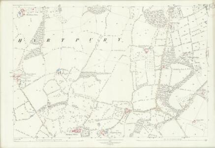 Gloucestershire XXV.1 (includes: Hartpury; Maisemore) - 25 Inch Map