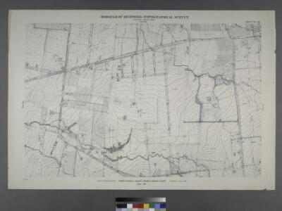 Sheet No. 30. [Includes Auburn Avenue, Willow Brook Road, Decatur Avenue, Stewart Avenue, Sheridan Avenue and Wheeler Avenue in Willow Brook.]; Borough of Richmond, Topographical Survey.