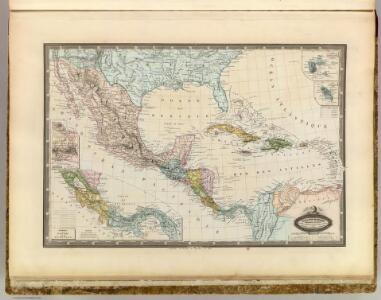 Mexique, Amerique Centrale, les Antilles.