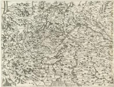 Vollständige Carte des gantzen Rhein Stroms]