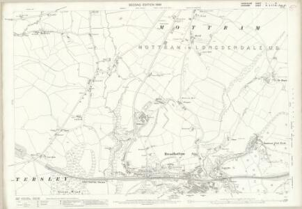 Derbyshire II.10 (includes: Charlesworth; Hyde; Longendale) - 25 Inch Map