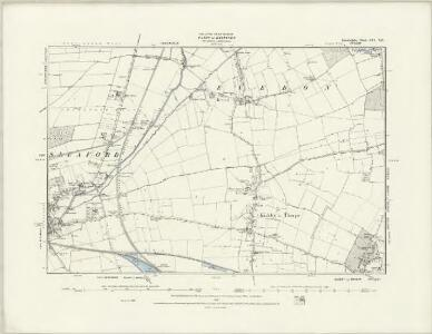 Lincolnshire CVI.SE - OS Six-Inch Map
