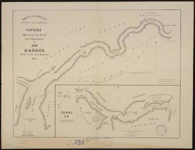 Costa Occidental d'Africa, Provincia da Guiné. Reconhecimento do Rio Mansoa desde a sua foz até ao Impernal