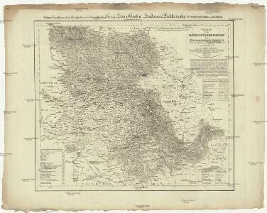 Charte vom Königgrätzer Kreise des Königreiches Böheim