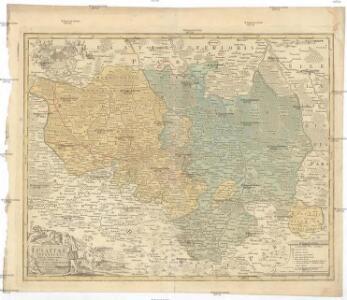Lusatiae superioris tabula chorographica