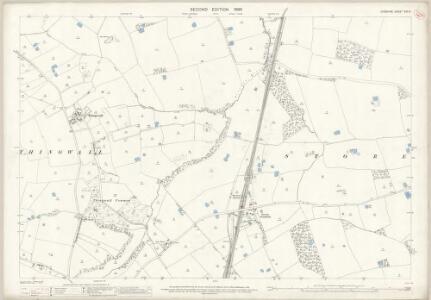 Cheshire XIII.14 (includes: Barnston; Birkenhead St Mary; Storeton) - 25 Inch Map