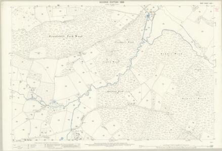 Kent LXXI.1 (includes: Biddenden; Cranbrook) - 25 Inch Map