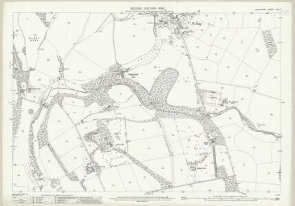 Shropshire XLIV.7 (includes: Donington; Tong) - 25 Inch Map