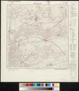 Meßtischblatt 300, neue Nr. 1522 : Hollingstedt, 1937