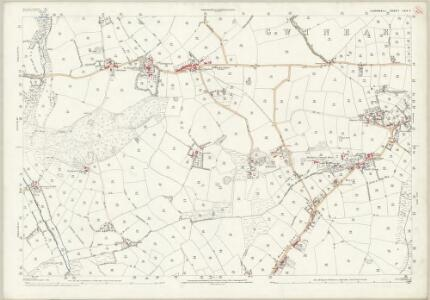 Cornwall LXIX.3 (includes: Gwinear Gwithian; Hayle) - 25 Inch Map