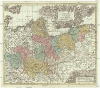 Marchionatus Brandenburgensis ducatus Pomeraniae et ducatus Mecklenburgicus excusi et venales prostantes