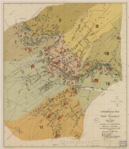 Orientierungs-Plan der Stadt Warnsdorf