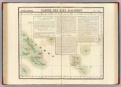 Partie, Iles Salomon. Oceanique no. 33.
