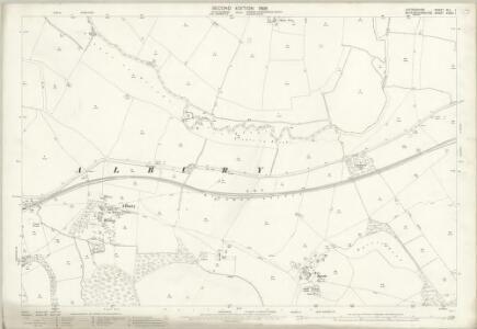Oxfordshire XLI.1 (includes: Great Haseley; Shabbington; Tiddington with Albury) - 25 Inch Map
