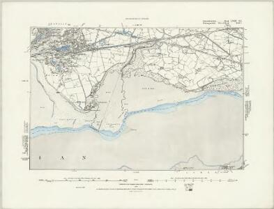 Carmarthenshire LVIII.SW - OS Six-Inch Map