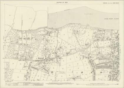 Hampshire and Isle of Wight XCI.9 & 5 (includes: Ryde) - 25 Inch Map