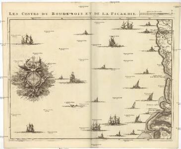 Les costes du Boulenois et de la Picardie