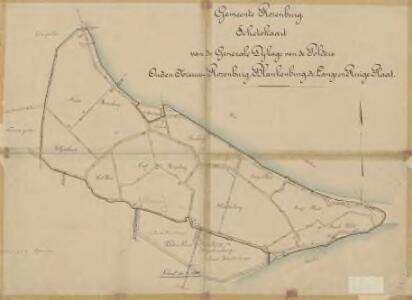 Polder Oud- en Nieuw-Rozenburg, Blankeurg, de Lange en Ruige Plaat, gemeente Rozenburg.