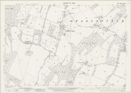 Kent XLIV.15 (includes: Charing; Otterden; Stalisfield) - 25 Inch Map