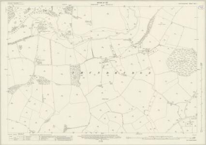 Hertfordshire XXX.1 (includes: Standon; Thundridge; Ware Rural) - 25 Inch Map