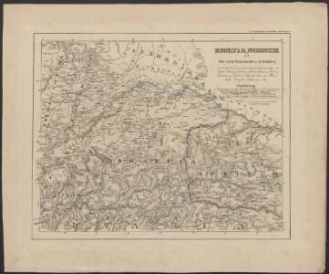 [Atlas zur Geschichte von Bayern] : I. Rhaetia, Noricum und die angränzenden Länder