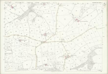 Devon XXXIII.8 (includes: Rackenford; Stoodleigh) - 25 Inch Map
